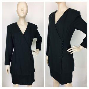 Vintage Yves Cossette Depeche Mode Jacket Dress